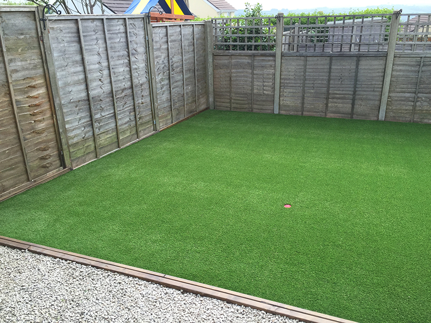 Artificial Lawn in Helston