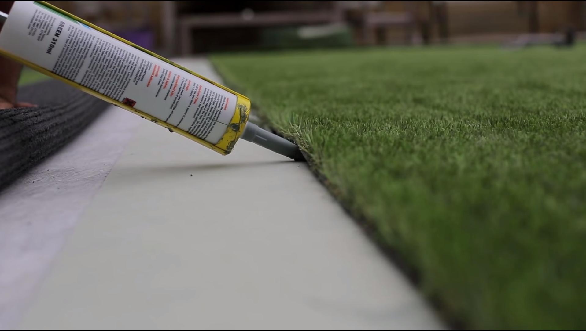 Artificial Lawn Installation - Cornwall Artificial Lawns